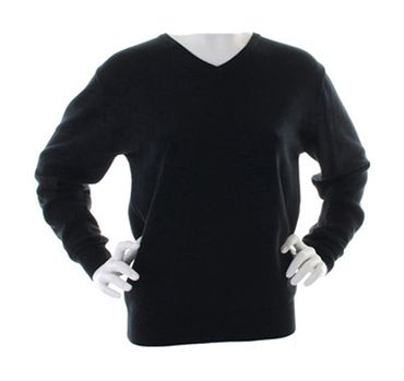 Kustom Kit: Ladies` Arundel V-Neck Sweater KK353 – Bild 2