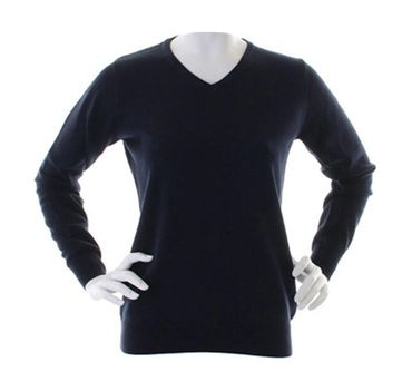 Kustom Kit: Ladies` Arundel V-Neck Sweater KK353 – Bild 3