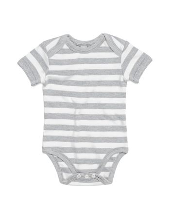BabyBugz: Baby Striped Short Sleeve Bodysuit BZ10S – Bild 5