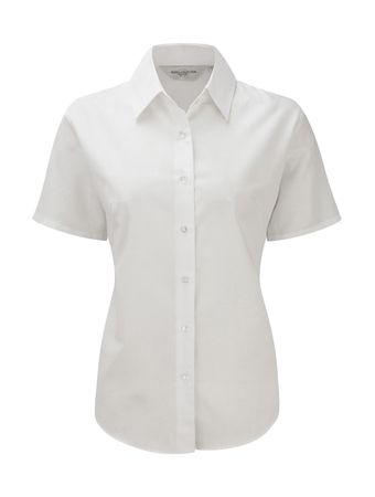 Russell Europe: Ladies` Oxford Bluse R-933F-0 – Bild 2