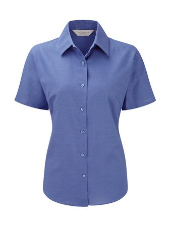 Russell Europe: Ladies` Oxford Bluse R-933F-0 – Bild 4