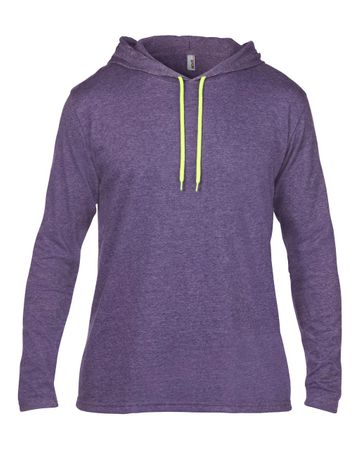 Anvil: Adult Fashion Basic LS Hooded Tee 987 – Bild 6