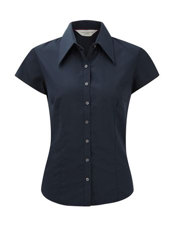 Russell Europe: Tencel Fitted Bluse R-955F-0 – Bild 4