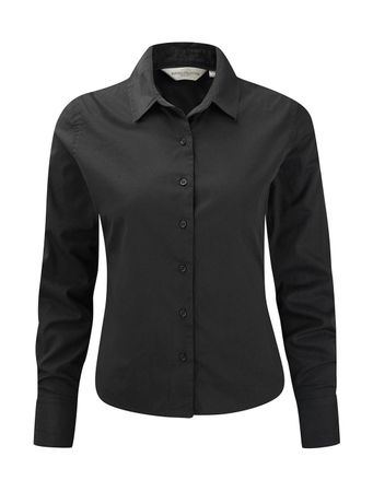 Russell Europe: Ladies` Classic Twill Shirt LS  R-916F-0 – Bild 4