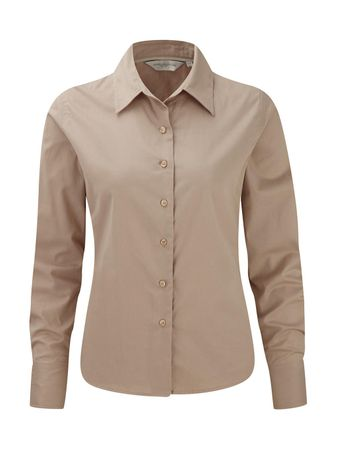 Russell Europe: Ladies` Classic Twill Shirt LS  R-916F-0 – Bild 7