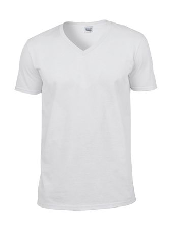 Gildan: Softstyle V-Neck T-Shirt 64V00 – Bild 2