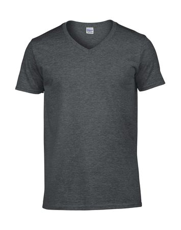 Gildan: Softstyle V-Neck T-Shirt 64V00 – Bild 5