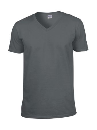 Gildan: Softstyle V-Neck T-Shirt 64V00 – Bild 6
