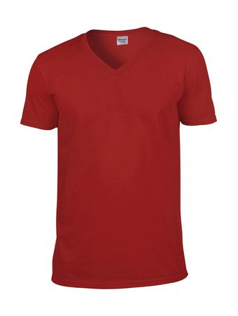 Gildan: Softstyle V-Neck T-Shirt 64V00 – Bild 11