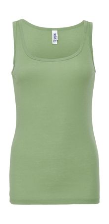 Bella+Canvas: Sheer Mini Rib Tank Top 8780: – Bild 12