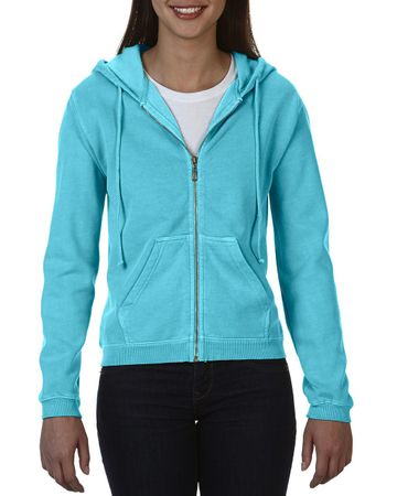 Comfort Colors: Ladies` Full Zip Hooded Sweatshirt 1598 – Bild 4