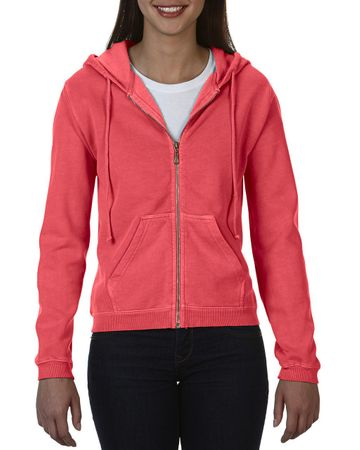 Comfort Colors: Ladies` Full Zip Hooded Sweatshirt 1598 – Bild 7