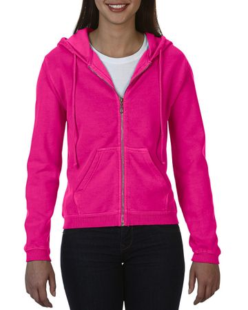 Comfort Colors: Ladies` Full Zip Hooded Sweatshirt 1598 – Bild 12