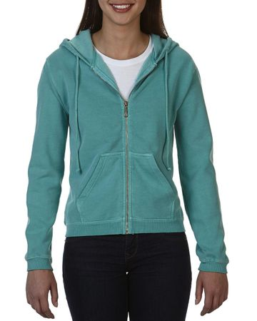 Comfort Colors: Ladies` Full Zip Hooded Sweatshirt 1598 – Bild 14