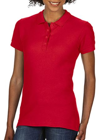 Gildan: Softstyle Ladies Double Pique Polo 64800L – Bild 9