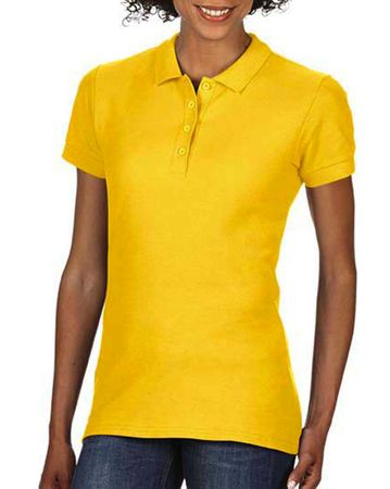 Gildan: Softstyle Ladies Double Pique Polo 64800L – Bild 15