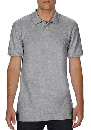 Gildan: Softstyle Adult Double Pique Polo 64800 – Bild 4