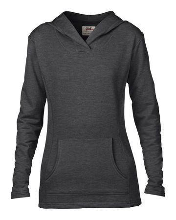 Anvil: Women`s French Terry Hooded Sweat 72500L – Bild 4