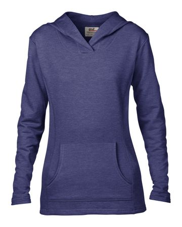 Anvil: Women`s French Terry Hooded Sweat 72500L – Bild 6