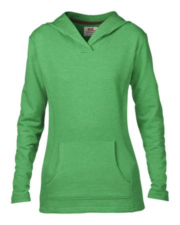 Anvil: Women`s French Terry Hooded Sweat 72500L – Bild 8
