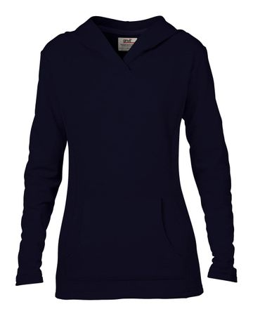 Anvil: Women`s French Terry Hooded Sweat 72500L – Bild 5