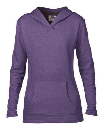 Anvil: Women`s French Terry Hooded Sweat 72500L – Bild 7