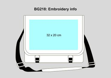 BagBase: Two-Tone Digital Messenger BG218 – Bild 5