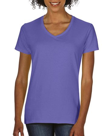 Comfort Colors: Ladies` V-Neck Tee 3199 – Bild 4