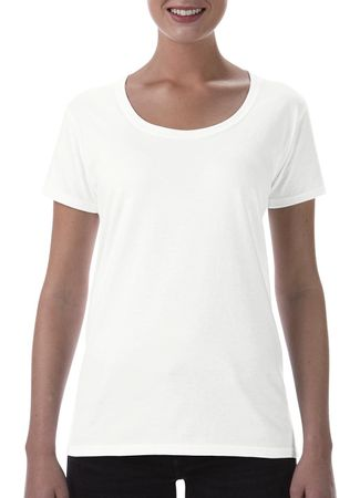 Gildan: Softstyle Ladies` Deep Scoop T-Shirt 64550L – Bild 2
