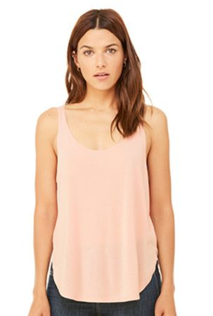 Bella+Canvas: Women`s Flowy Side Slit Tank 8802 – Bild 7