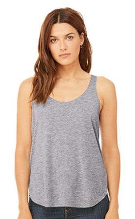 Bella+Canvas: Women`s Flowy Side Slit Tank 8802 – Bild 5