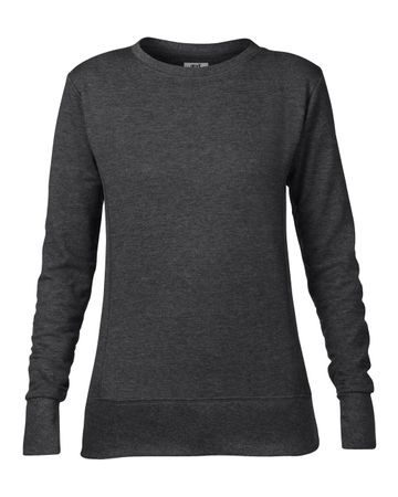 Anvil: Women`s French Terry Sweatshirt 72000L – Bild 4