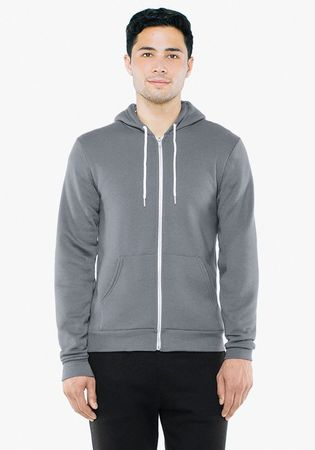 American Apparel: Unisex Flex Zip Hooded Sweat F497WA – Bild 4