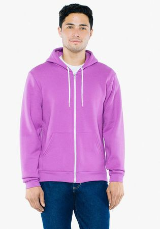American Apparel: Unisex Flex Zip Hooded Sweat F497WA – Bild 7