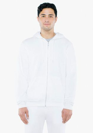 American Apparel: Unisex Flex Zip Hooded Sweat F497WA – Bild 2