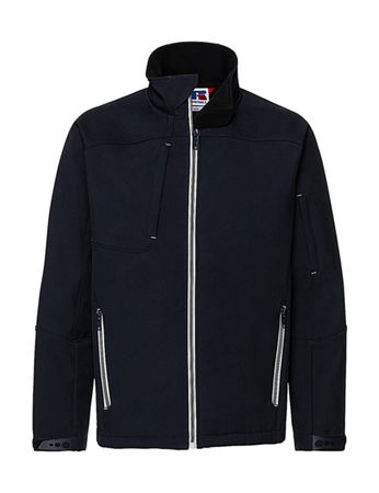 Russell Europe: Men`s Bionic Softshell Jacket R-410M-0  – Bild 5