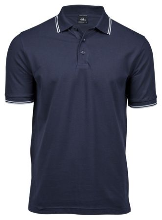 Tee Jays: Luxury Stripe Stretch Polo 1407  – Bild 5