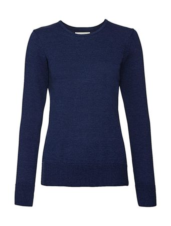 Russell Europe: Ladies` Crew Neck Knitted Pullover R-717F-0  – Bild 5
