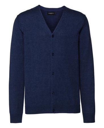 Russell Europe: Men`s V-Neck Knitted Cardigan R-715M-0  – Bild 5