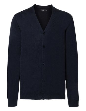 Russell Europe: Men`s V-Neck Knitted Cardigan R-715M-0  – Bild 4