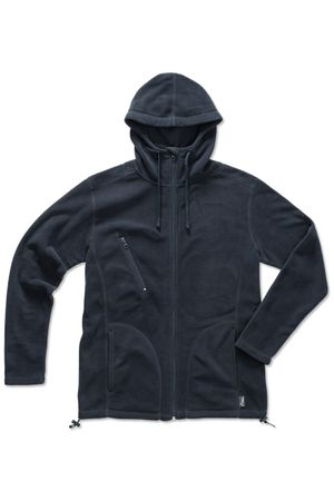 Stedman: Active Hooded Fleece Jacket ST5080  – Bild 3