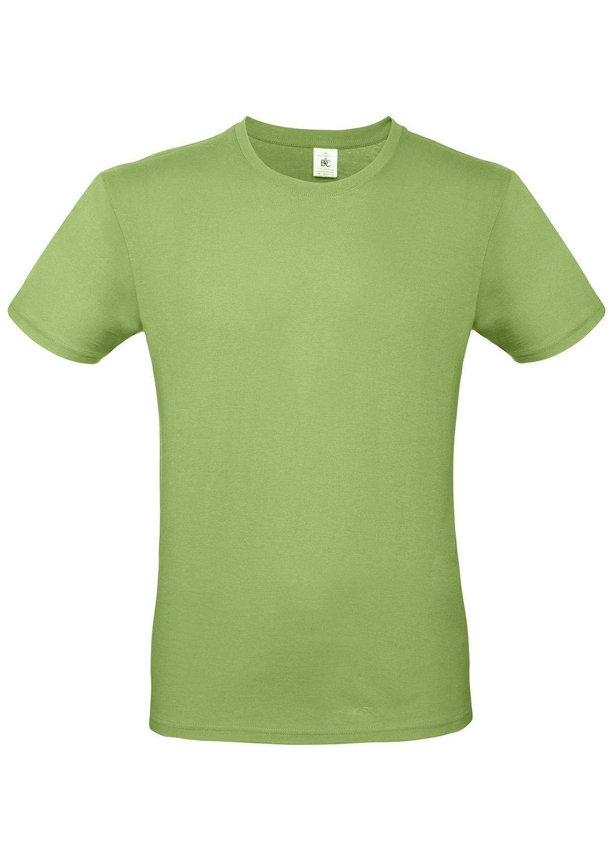 10er Pack Herren Regular Fit T-Shirt B/&C E150 XS-5XL Baumwolle ÖkoTex TU01T NEU