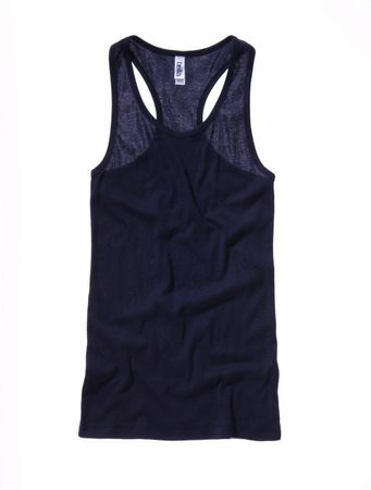 Bella+Canvas: Sheer Mini Rib Racerback Tank Top 8770:00:00 – Bild 4