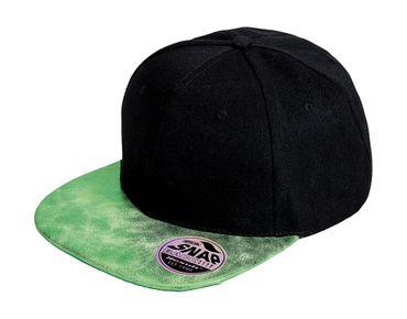 Result Caps: Bronx Glitter Flat Peak Snapback Cap RC087X – Bild 5