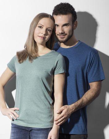 nakedshirt: Nancy Triblend Women`s Favourite T-Shirt TF-SSL-R-TB111 – Bild 4