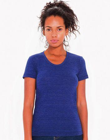 American Apparel: Women`s Tri-Blend Crew Neck T-Shirt TR301W – Bild 2