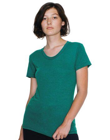 American Apparel: Women`s Tri-Blend Crew Neck T-Shirt TR301W – Bild 4