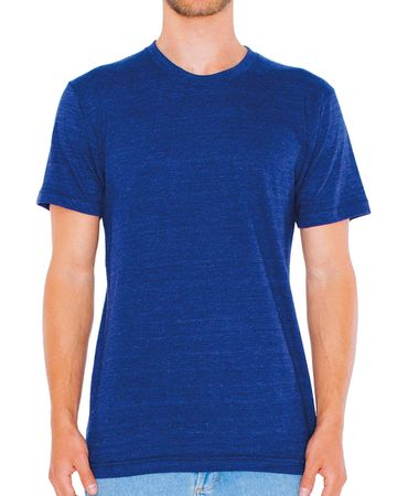 American Apparel: Unisex Tri-Blend Track T-Shirt TR401W – Bild 5