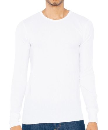 American Apparel: Unisex Baby Thermal LS T-Shirt T407W – Bild 2