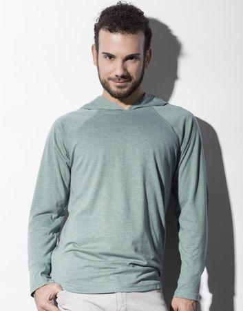 nakedshirt: Cecil Unisex LS Hooded T-Shirt TU-LSL-H-TB042 – Bild 5